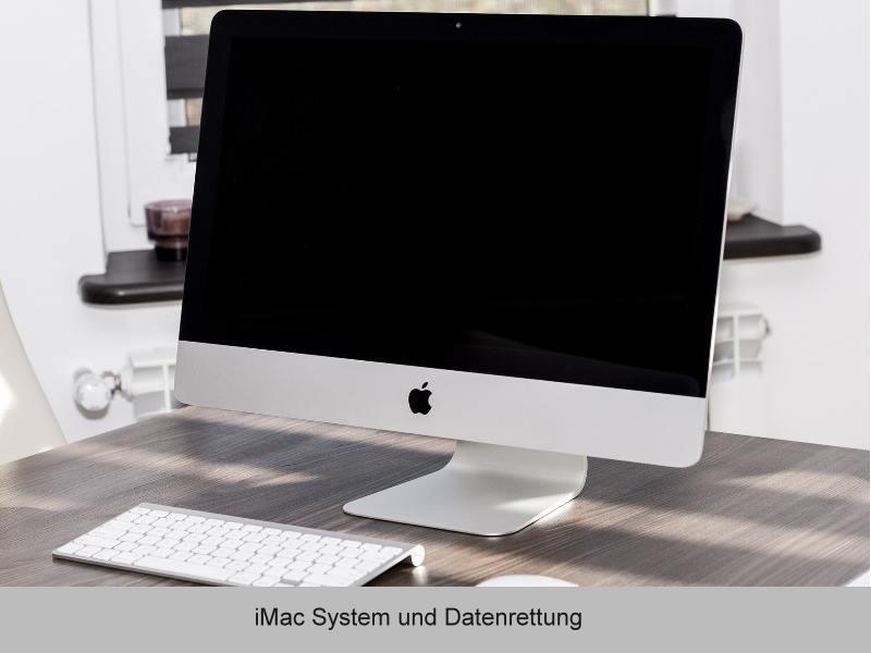 iMac Fehleranalyse